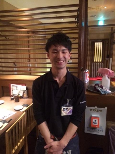 ☆とり鉄Best Staff総選挙2016 ☆エントリーNo43 三上 赳史
