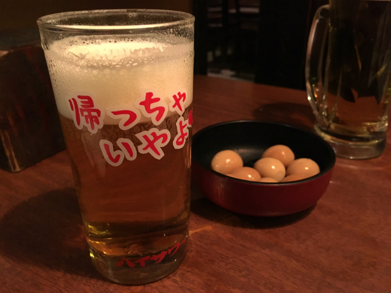 s居酒屋 とり鉄 浜松町 ビール